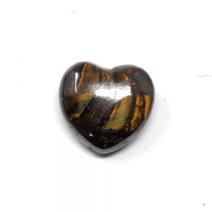 Tiger Iron Heart 30mm Polished Crystals crystal heart