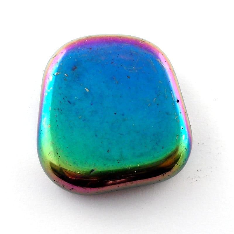 Hematite, Rainbow, Magnetic All Tumbled Stones magnetic hematite