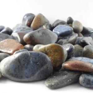 Quartz, Blue, tumbled, 16oz All Tumbled Stones blue quartz