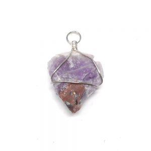 Amethyst Arrowhead Pendant All Crystal Jewelry amethyst