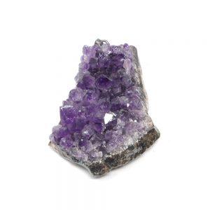 Amethyst Cluster Pendant lg All Crystal Jewelry amethyst