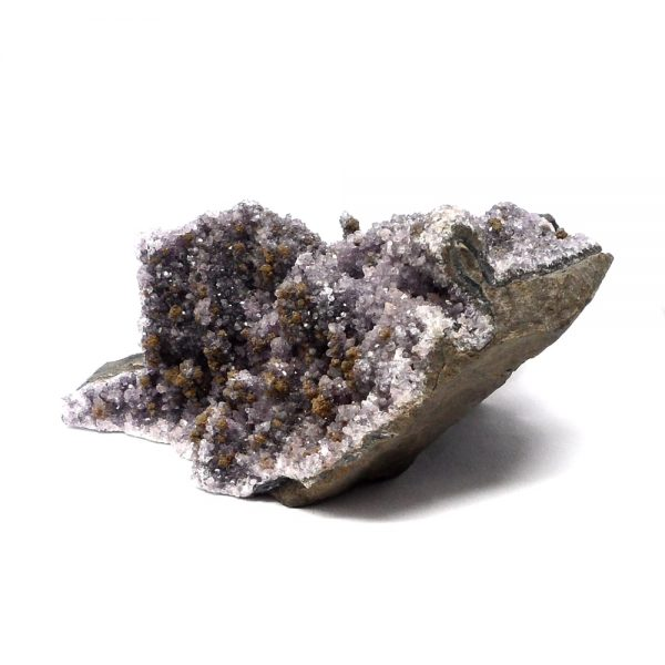 Black Amethyst Sculpture All Raw Crystals amethyst
