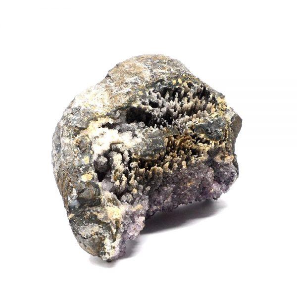 Black Amethyst Sculpture All Raw Crystals black amethyst