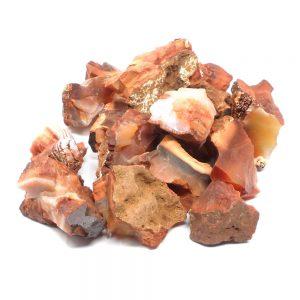 Carnelian raw 16oz Raw Crystals bulk carnelian
