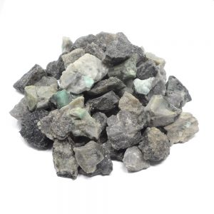 Emerald raw 16 ounces Raw Crystals bulk emerald