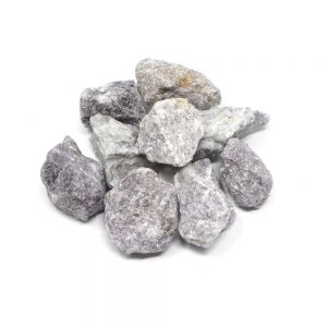 Lepidolite raw 16oz All Raw Crystals bulk lepidolite