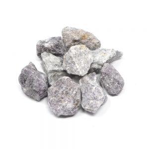 Lepidolite raw 16oz Raw Crystals bulk lepidolite