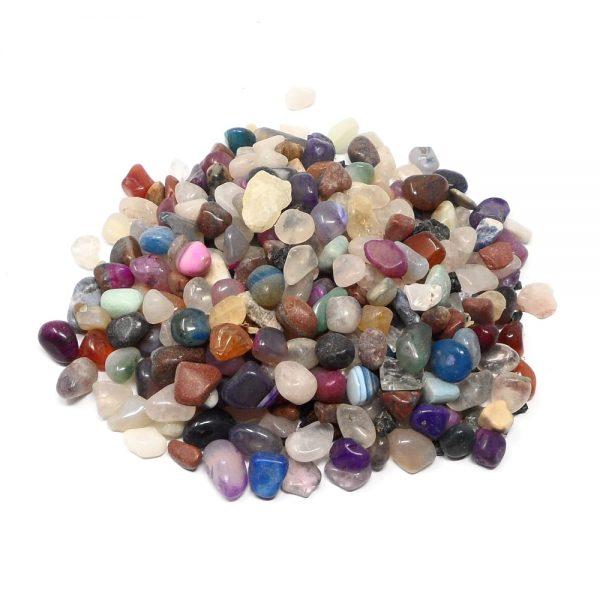 Mixed Tumbled Stones sm 8oz All Tumbled Stones bulk tumbled stones