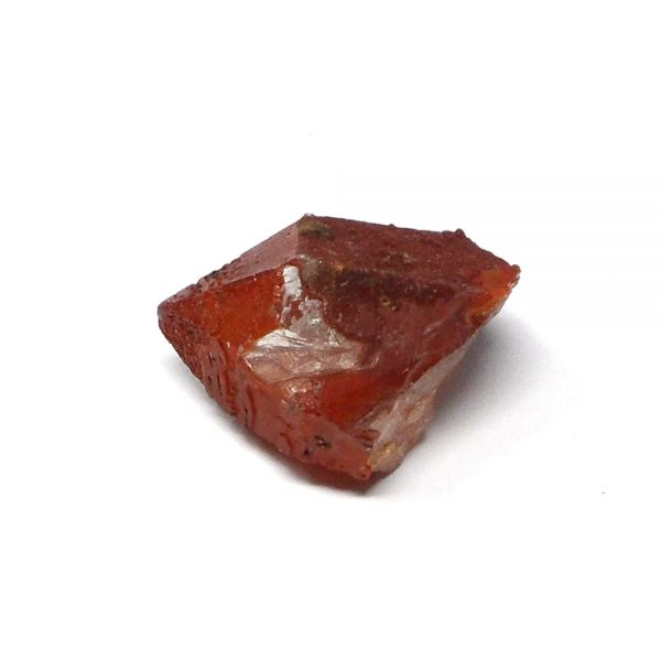 Red Quartz Crystal Point All Raw Crystals hematite quartz