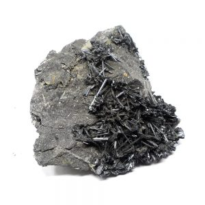 Stibnite Needle Cluster All Raw Crystals needle