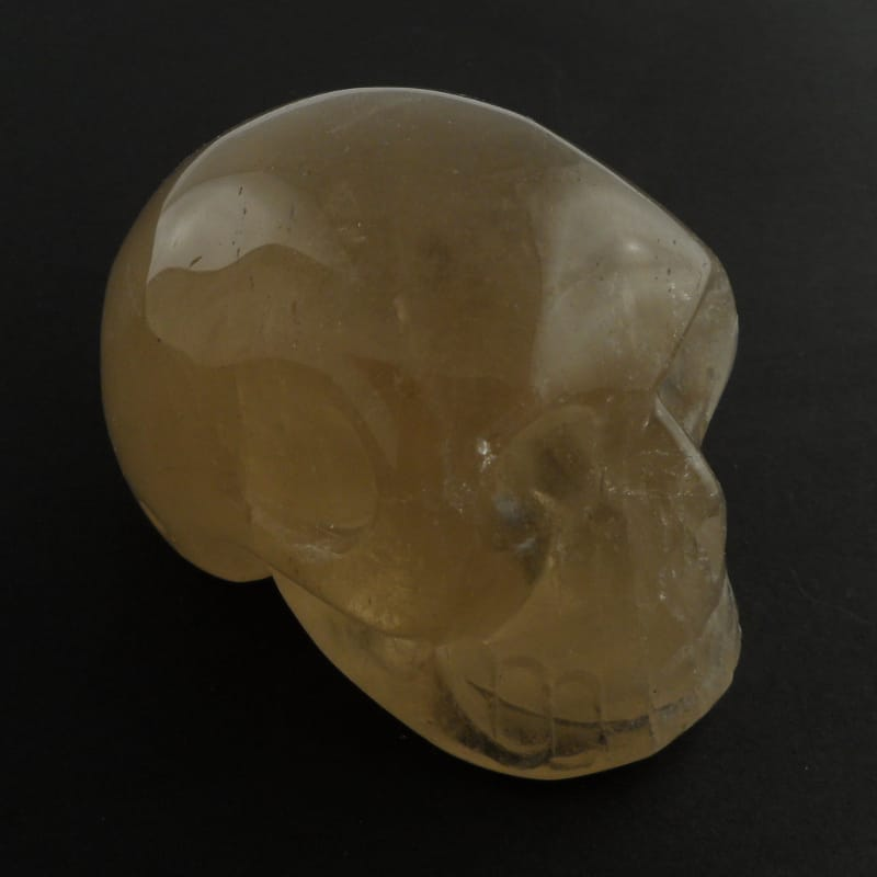 Citrine Skull Polished Crystals Citrine