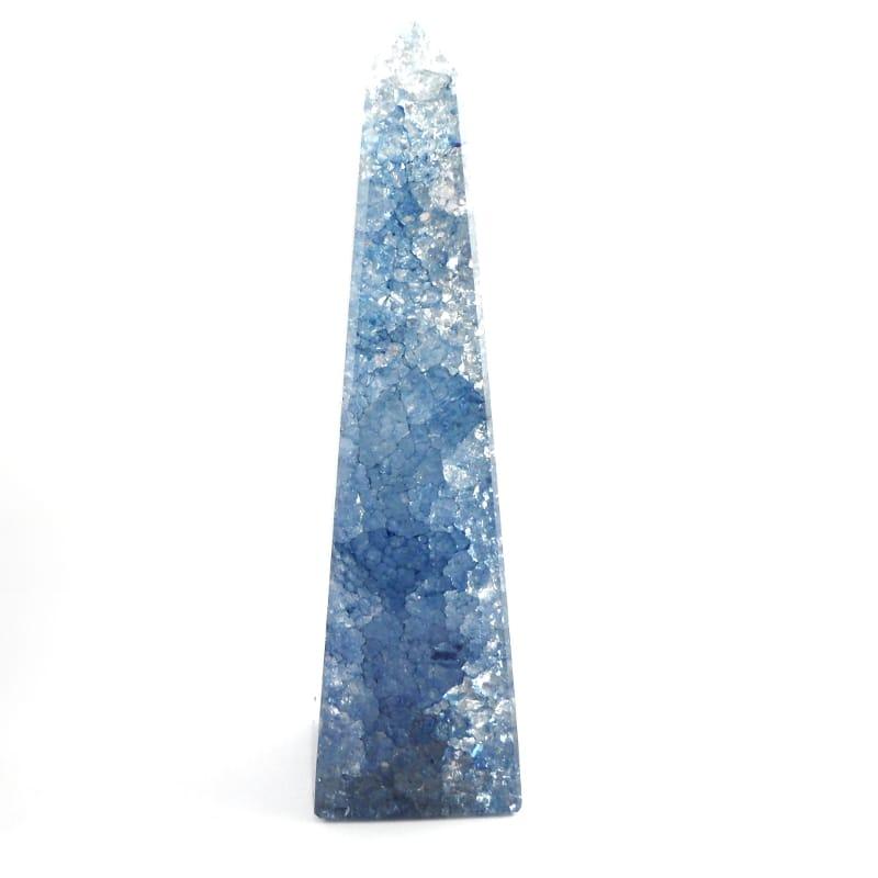Crackle Quartz Obelisk     OBL-0225