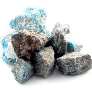 Apatite, Blue raw 16oz All Raw Crystals apatite