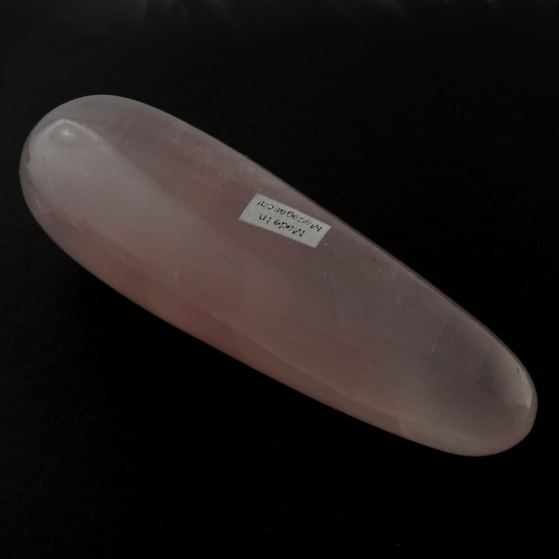 Rose Quartz Massage Wand All Polished Crystals rose quartz
