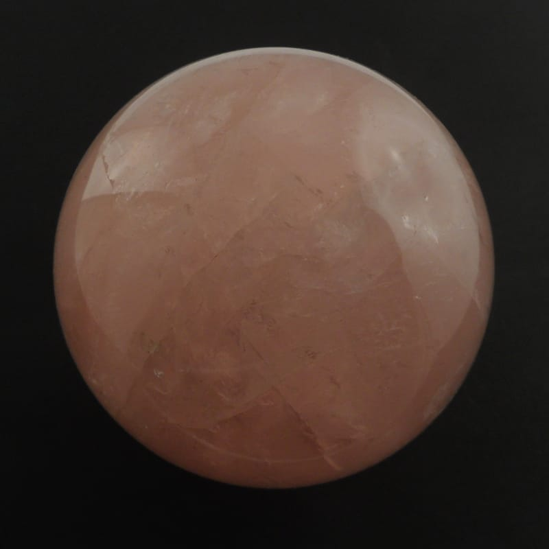 Quartz, Rose Sphere All Polished Crystals polished