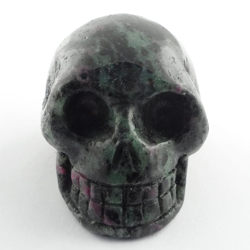 Ruby Zoisite Skull All Polished Crystals ruby