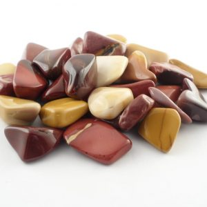 Mookaite, tumbled, 4oz All Tumbled Stones mookaite