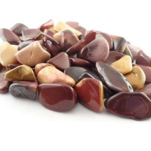 Mookaite, tumbled, 4oz Tumbled Stones mookaite