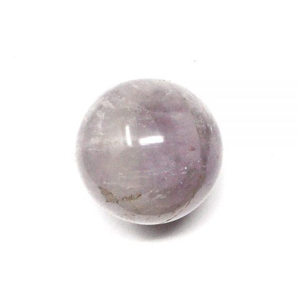 Amethyst & Quartz Sphere 38mm All Polished Crystals amethyst