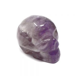 Amethyst Skull All Polished Crystals amethyst