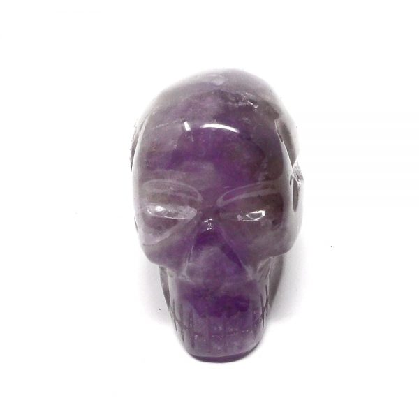 Amethyst Skull All Polished Crystals amethyst
