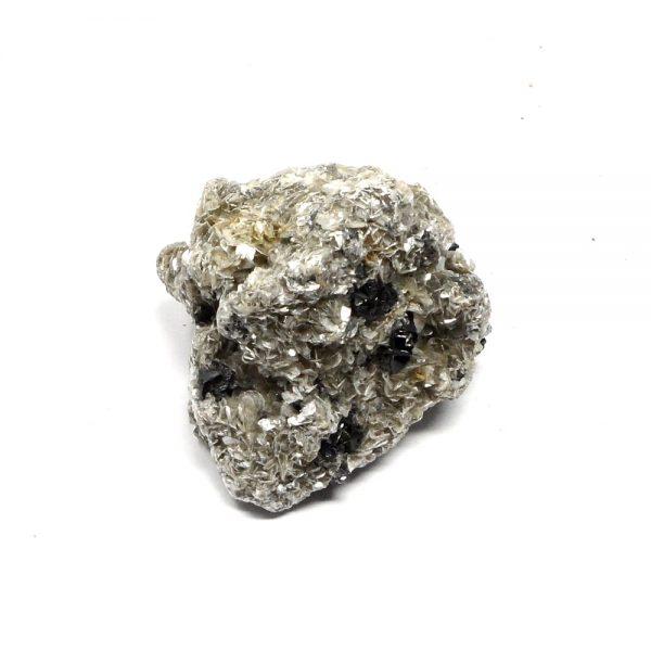 Cassiterite in Mica All Raw Crystals cassiterite