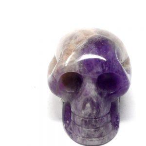Chevron Amethyst Skull All Polished Crystals amethyst