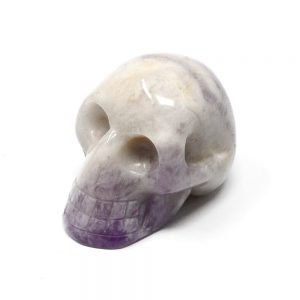 Chevron Amethyst Skull All Polished Crystals amethyst