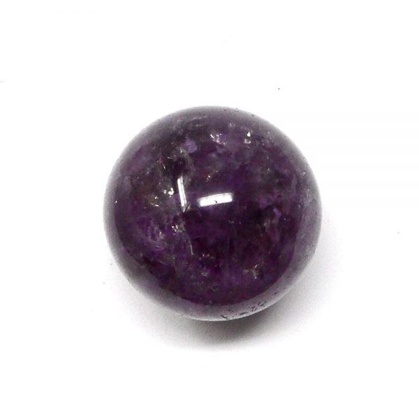 Smoky Amethyst Sphere 35mm All Polished Crystals amethyst