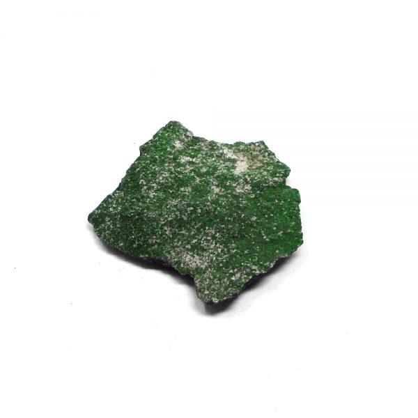 Uvarovite Mineral Specimen All Raw Crystals uvarovite
