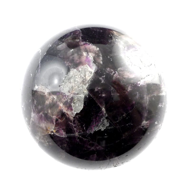 Amethyst Sphere XQ 50mm All Polished Crystals