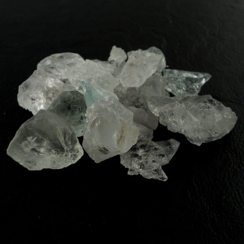 Aquamarine, Raw 1oz All Raw Crystals aquamarine