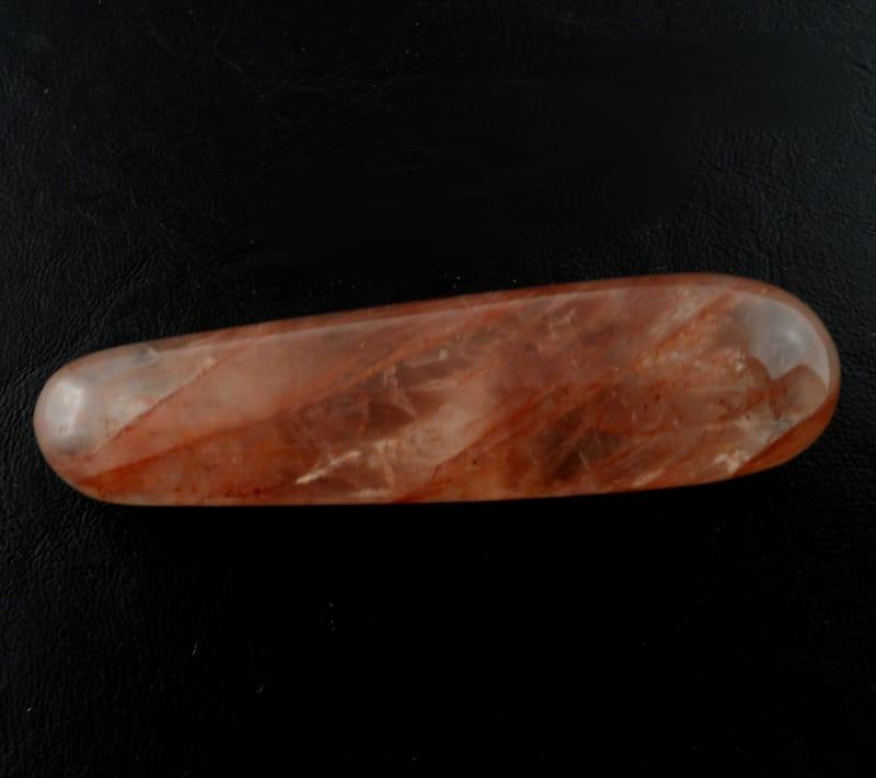 Hematoid Quartz Wand All Polished Crystals
