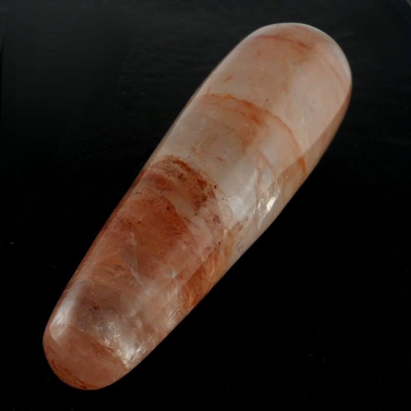 Hematoid Quartz Wand All Polished Crystals hematoid quartz
