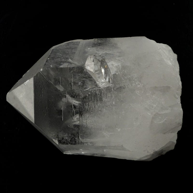 Quartz Point, ST, md All Raw Crystals clear quartz