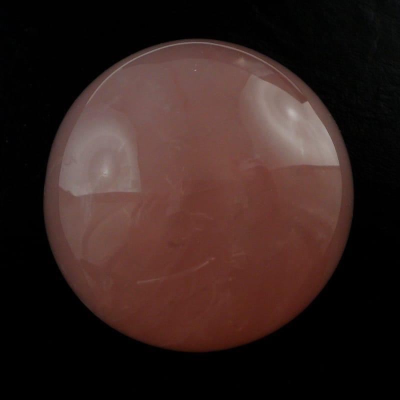 Quartz, Rose Sphere 70mm All Polished Crystals