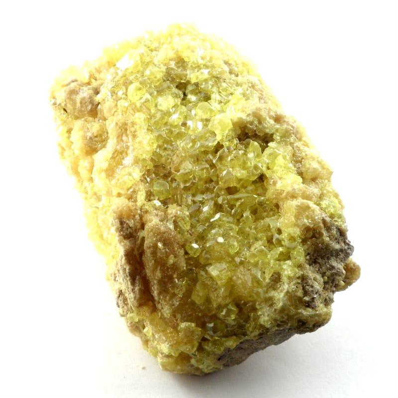 Sulphur Mineral Specimen All Raw Crystals
