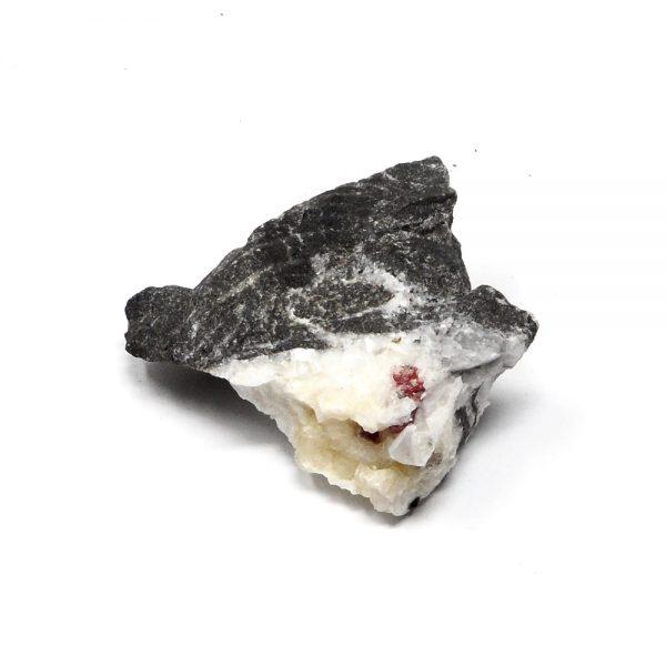 Cinnabar On Dolomite Cluster All Raw Crystals cinnabar