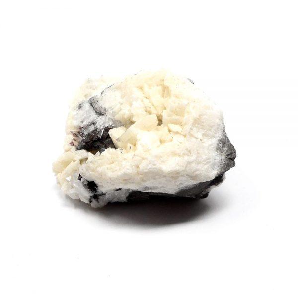 Cinnabar on Dolomite Mineral Specimen All Raw Crystals cinnabar