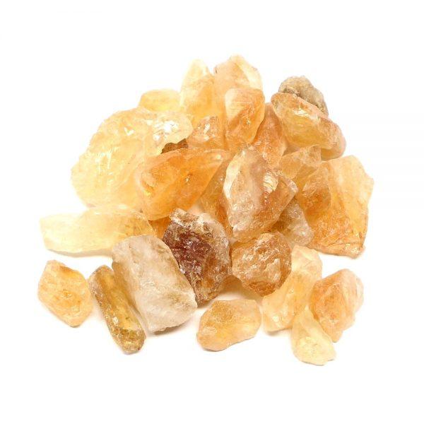 Citrine raw 8 ounces All Raw Crystals bulk citrine