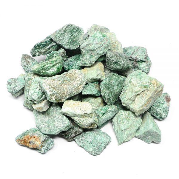 Fuchsite raw 16oz All Raw Crystals bulk fuchsite