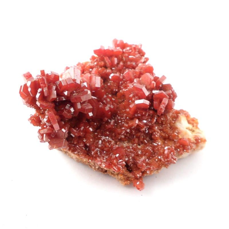 Vanadinite Mineral Specimen All Raw Crystals