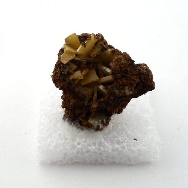 Wulfenite Specimen All Raw Crystals wulfenite