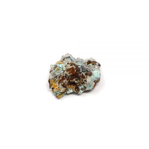Blue Hemimorphite Cluster All Raw Crystals blue hemimorphite