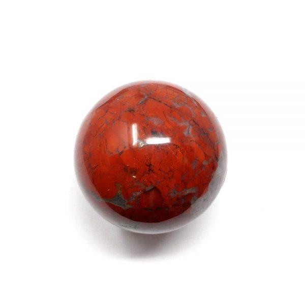 Brecciated Jasper Sphere 50mm All Polished Crystals brecciated jasper