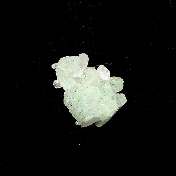 Prehnite and Babingtonite in Quartz Cluster All Raw Crystals babingtonire healing properties