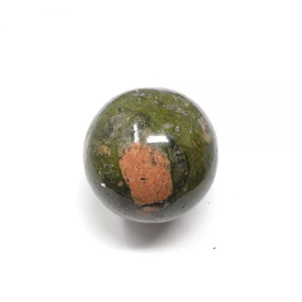 Unakite Sphere 50mm All Polished Crystals crystal sphere
