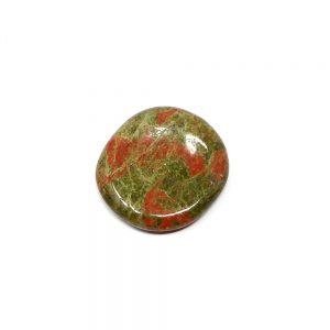 Unakite Soothing Stone Gallet crystal pocket stone