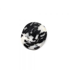 Zebra Marble Soothing Stone Gallet crystal pocket stone