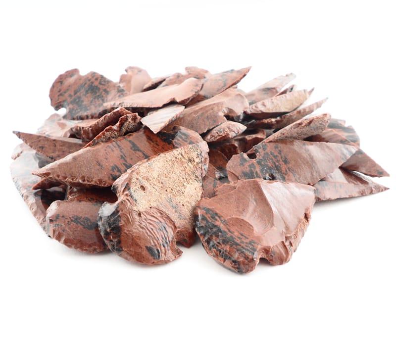 Mahogany Obsidian Arrowheads All Raw Crystals arrowhead